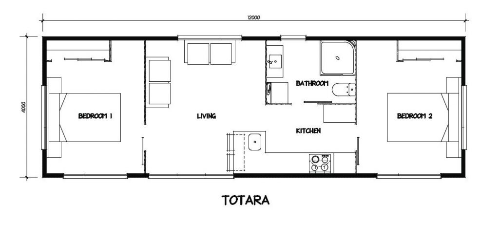 MBS - Totara floor plan